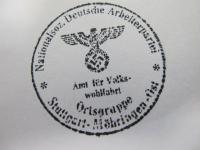 TIMBRO POLITICO(OCCUPAZIONE PARIGI)