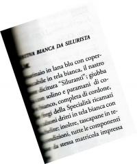 UNIFORME ESTIVA BIANCA DA SILURISTA