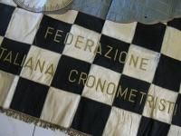 LABARO FASCISTA FEDERAZIONE ITALIANA CRONOMETRISTI