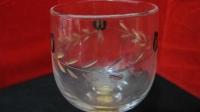 bicchiere a coppa in cristallo SS