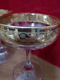 lotto sei coppe per lo champagne