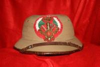 casco coloniale da console comandante
