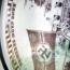 PIATTO OVALE MADREPERLATO DEL 'INCROCIATORE GRAF SPEE PORCELLANE NAZISTE