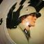 grande piatto patriottico Waffen SS